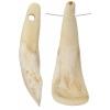 Bone Cows Teeth Antiqued Worked On Bone